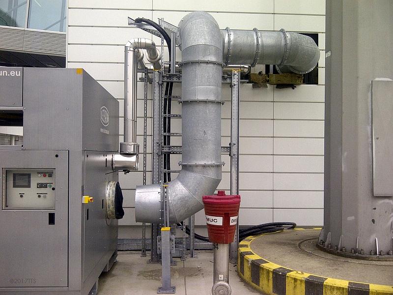 21/68 Projekt Flughafen München - PCA-Technik