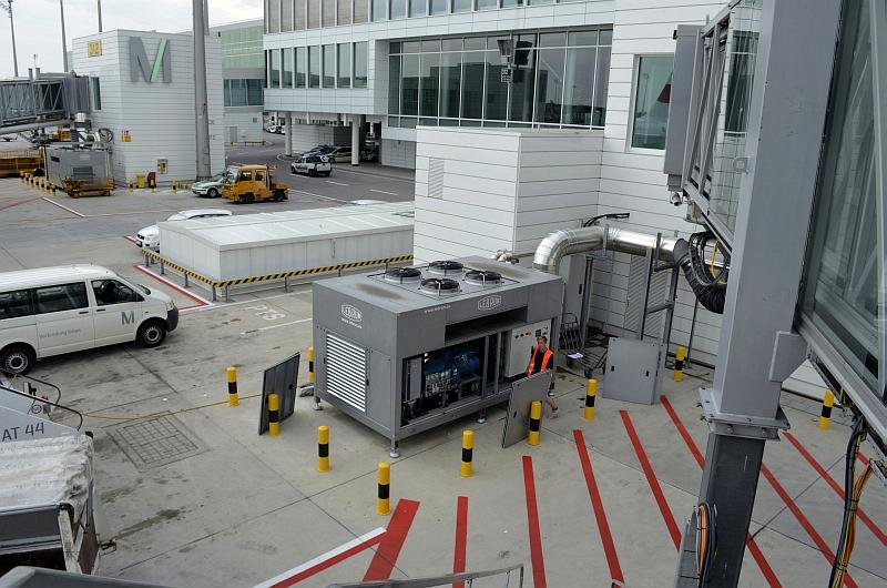 40/68 Projekt Flughafen München - PCA-Technik