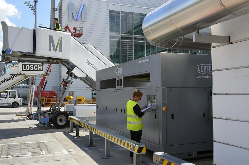 47/68 Projekt Flughafen München - PCA-Technik