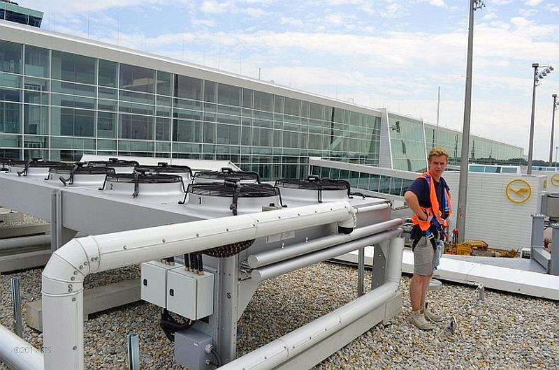50/68 Projekt Flughafen München - PCA-Technik