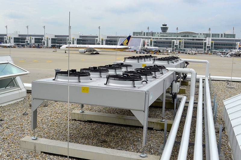 51/68 Projekt Flughafen München - PCA-Technik