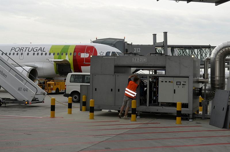 58/68 Projekt Flughafen München - PCA-Technik